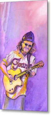John Bell With Hat Metal Print by David Sockrider
