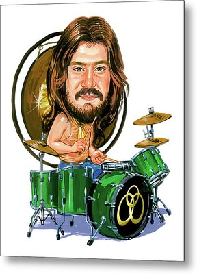John Bonham Metal Print by Art