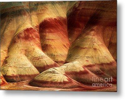 John Day Martian Landscape Metal Print by Inge Johnsson
