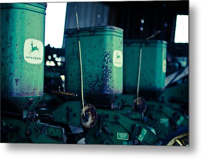 John Deere Metal Print by Off The Beaten Path Photography - Andrew Alexander