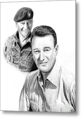 John Wayne Metal Print by Peter Piatt