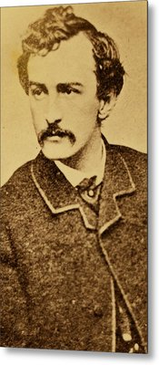 John Wilkes Booth Metal Print by Anonymous