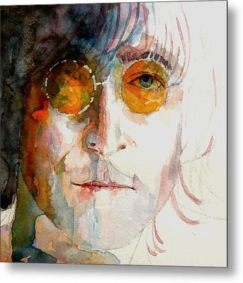 John Winston Lennon Metal Print by Paul Lovering