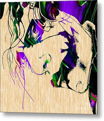 Joker Collection Metal Print by Marvin Blaine