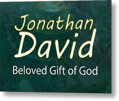 Jonathan David - Beloved Gift Of God Metal Print by Christopher Gaston