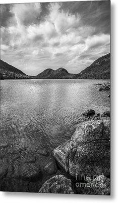 Jordan Pond Acadia National Park Maine. Metal Print by Diane Diederich