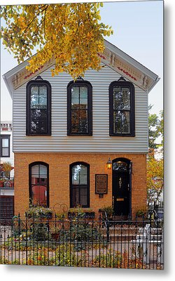 Joseph J O'connell House Chicago Metal Print by Christine Till