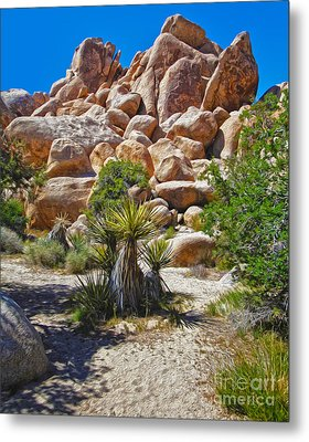 Joshua Tree - 08 Metal Print by Gregory Dyer