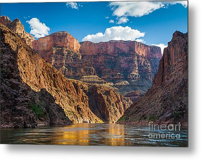 Journey Through The Grand Canyon Metal Print by Inge Johnsson