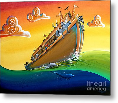 Noah's Ark - Journey To New Beginnings Metal Print by Cindy Thornton