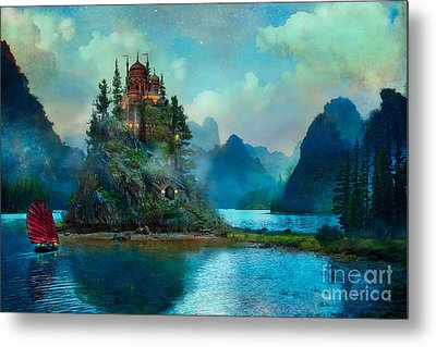 Journeys End Metal Print by Aimee Stewart
