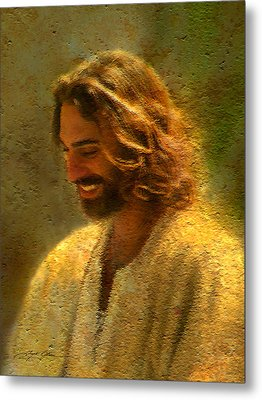 Joy Of The Lord Metal Print by Greg Olsen