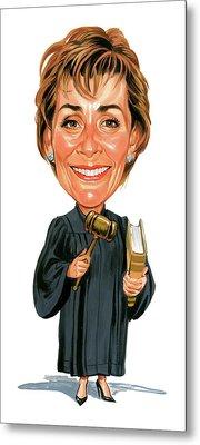 Judith Sheindlin As Judge Judy Metal Print by Art
