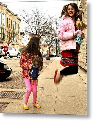 Jump For Joy Metal Print by Jon Van Gilder