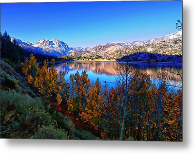 June Lake California Sunrise Metal Print by Scott McGuire