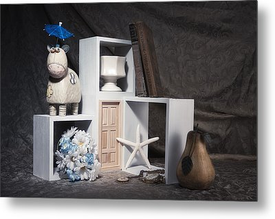 Just For Fun Still Life Metal Print by Tom Mc Nemar