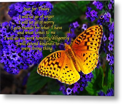 Just For Today 8 Metal Print by Bill Caldwell -        ABeautifulSky Photography