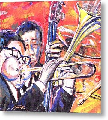 Just Jazz One Metal Print by Jonathan Tyson