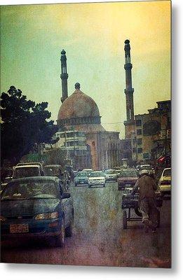 Kabul Diaries  Metal Print by Fareeha Khawaja