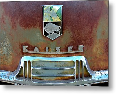 Kaiser Vintage Grill Metal Print by Tony Grider