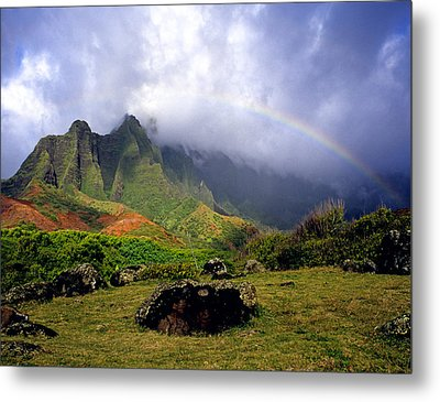 Kalalau Valley Kauai Metal Print by Kevin Smith
