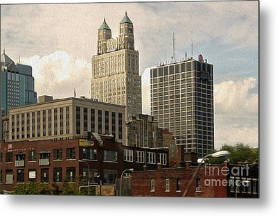Kansas City - 03 Metal Print by Gregory Dyer