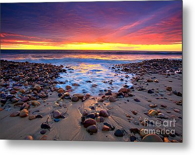 Karrara Sunset Metal Print by Bill  Robinson