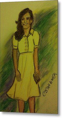 Kate Middleton Metal Print by Christy Saunders Church