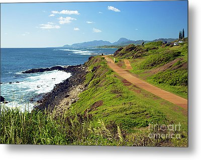 Kauai Coast Metal Print by Kicka Witte