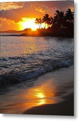 Kauai Sunset Metal Print by Shane Kelly