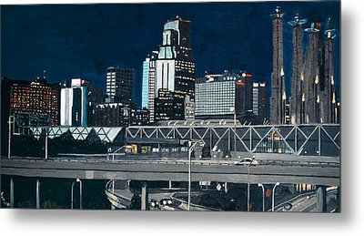Kc At Dusk Metal Print by Patricio Lazen