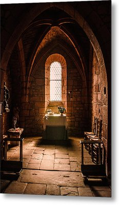 Metal Print featuring the photograph Keep The Faith by Thierry Bouriat