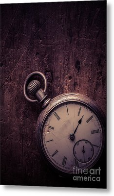Keeping Time Metal Print by Edward Fielding