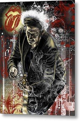 Keith Metal Print by Gary Kroman