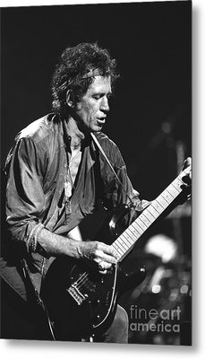 Keith Richards Metal Print by Concert Photos