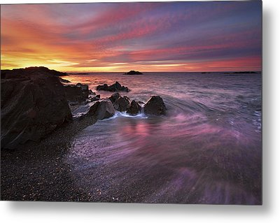 Kennebunk Sunrise Metal Print by Eric Gendron