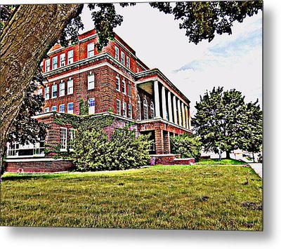 Kenosha Elks Club Metal Print by Kay Novy