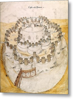 Kent Artillery Fort, 16th Century Metal Print by British Library