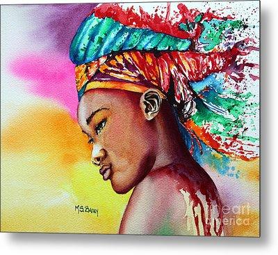 Kenya Metal Print by Maria Barry