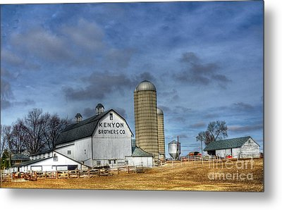 Kenyon Brothers Dairy Metal Print by David Bearden