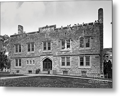 Kenyon College Ransom Hall Metal Print by University Icons