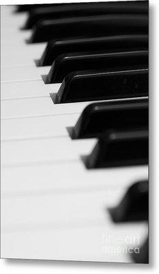Keyboard Metal Print by Svetlana Sewell