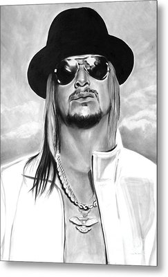 Kid Rock Metal Print by Brian Curran