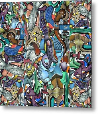 Kieko Alteration Metal Print by George Curington
