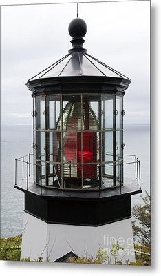 Kilauea Lighthouse Metal Print by Peter French