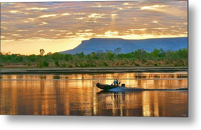 Kimberley Dawning Metal Print by Holly Kempe