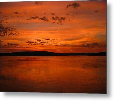 Kimberley Sunset Metal Print by Laura Hiesinger