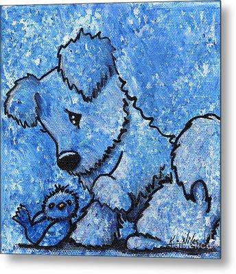Kimpressions - Bird Dog Metal Print by Kim Niles