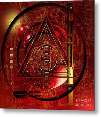 King Crimson Metal Print by Franziskus Pfleghart