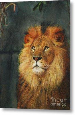King Of Taronga - Watercolor Metal Print by GD Rankin